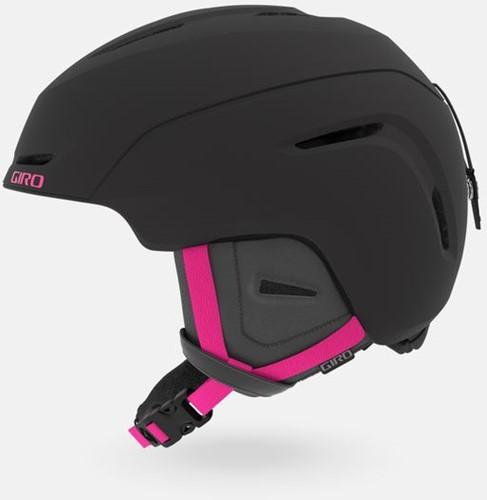 Giro Avera matte black/bright pink S (52-55.5 cm)