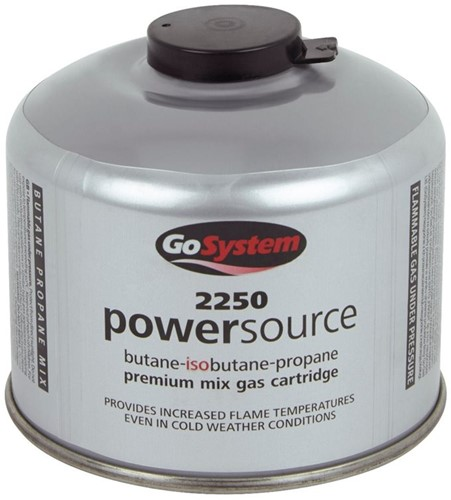 GoSystem 2250 Threaded Gas Cartridge 220g