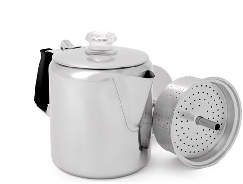 GSI Outdoors Glacier Stainless Percolator (6 cups)