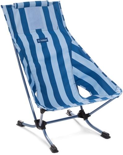Helinox Beach Chair blue stripe/navy
