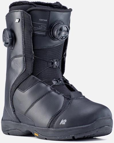K2 Contour snowboard boots black 39 1/2 (US 8)