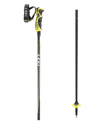 Leki Carbon 14 S Zwart/Neon-Geel/Wit 115 cm