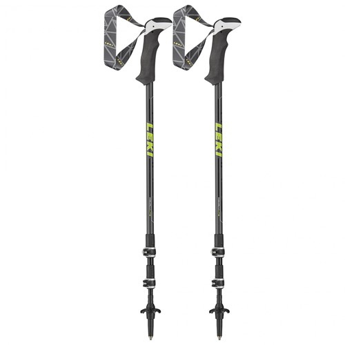 Leki Makalu Lite trekkingstokken antraciet 100-135 cm