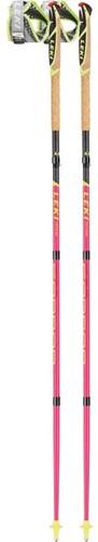 Leki Micro Trail Pro roze/donkergrijs 130 cm