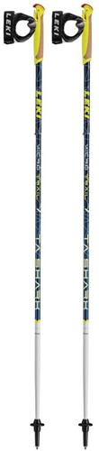Leki Micro Trail TA donkerblauw 130 cm