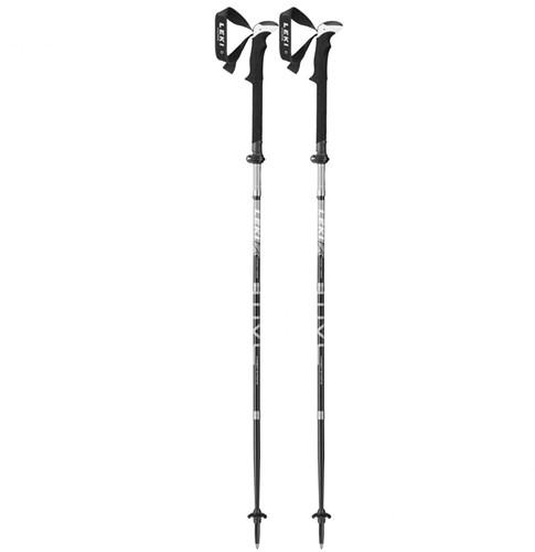 Leki Micro Vario Carbon Strong trekkingstokken antraciet 120-140 cm