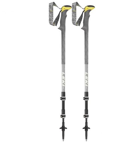 Leki Sherpa XTG trekkingstokken grijs 110-145 cm