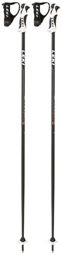 Leki Spark Lite S black/white/neon-red 110 cm