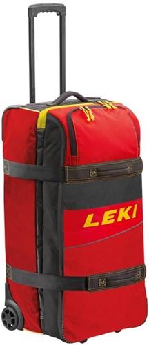 Leki Travel Trolley red