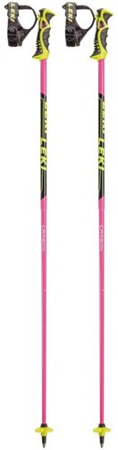 Leki Venom SL pink/neon-yellow/black 120 cm