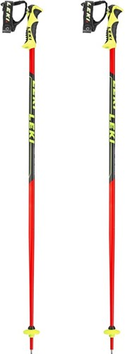 Leki Worldcup Lite SL Neon-Rood/Zwart/Wit 120 cm