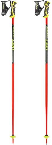 Leki Worldcup SL TBS Neon-Rood/Zwart/Wit 125 cm
