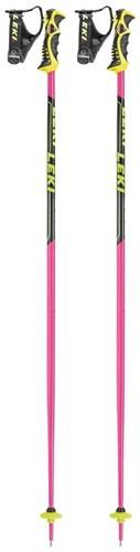 Leki Worldcup SL TBS Roze/Neon-Geel/Zwart 110 cm
