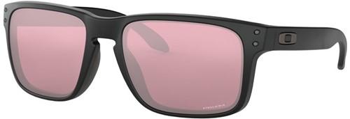 Oakley Holbrook Matzwart Lens Donker Golf Zonnebril