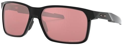 Oakley Portal X Gepolijst Zwart Lens Donker Golf Zonnebril