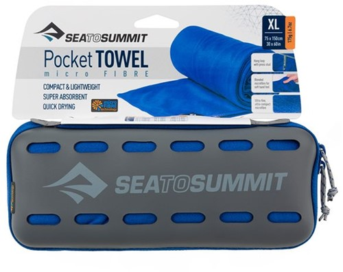 Sea to Summit Pocket Towel XL cobalt blue