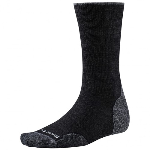 SmartWool PhD Outdoor Light Crew charcoal L