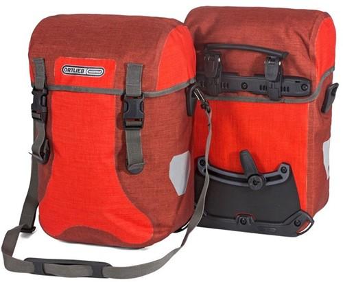 Ortlieb Sport-Packer Plus QL2.1 30L signaalrood/donkerrood (paar)