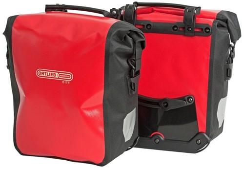 Ortlieb Sport-roller City 25L QL1 rood/zwart (paar)
