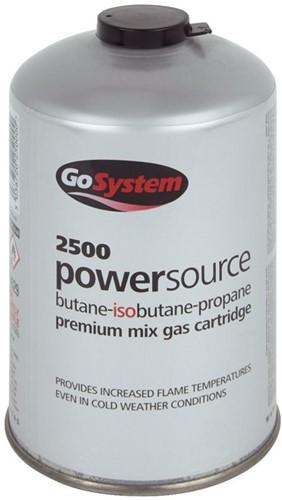 GoSystem 2500 PowerSource Gas cartridge 445g