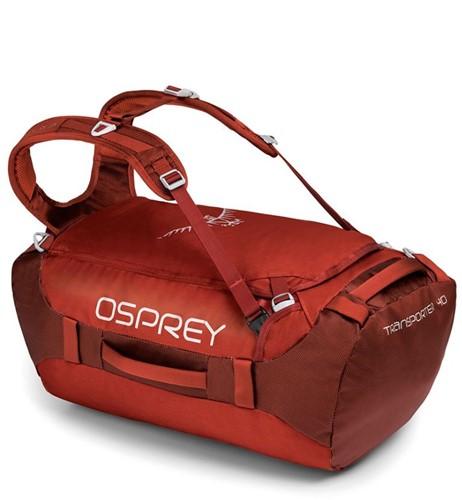 Osprey Transporter 40 ruffian Rood