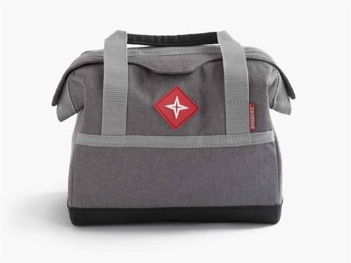 Barebones Lunch Cooler 6 Cans grey cooling bag