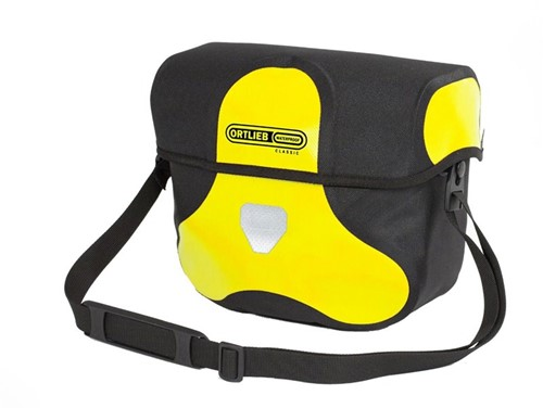 Ortlieb Ultimate Six Classic 7L geel/zwart