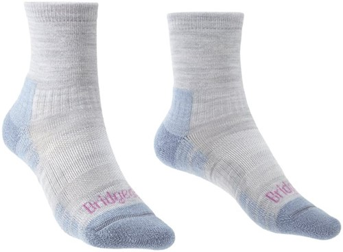 Bridgedale Hike Lightweight 3/4 Crew Women socks grey/smokey blue M