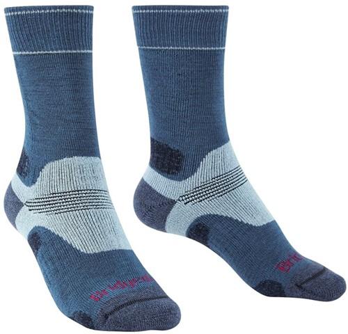 Bridgedale Hike Midweight Boot Women socks blue/sky M