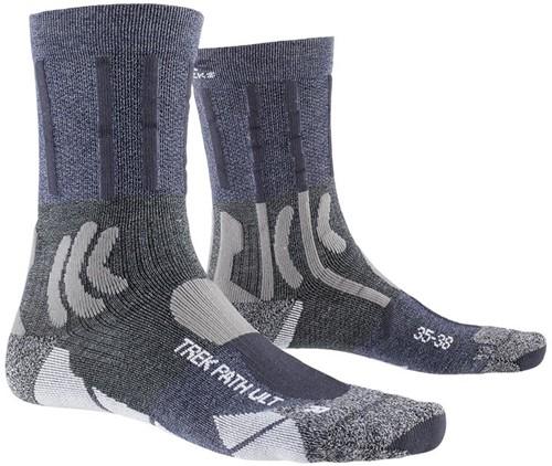 X-Socks Trek Path Ultra LT Socks blauw/grijs 42-44