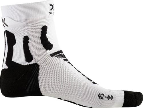 X-Socks Run Performance sokken zwart/wit 45-47