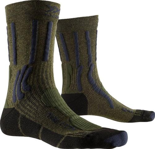 X-Socks Trek X Ctn Socks groen/blauw 42-44