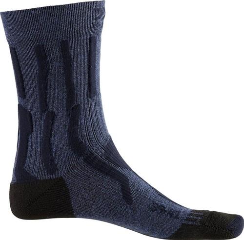 X-Socks Trek X Ctn W Socks blauw/zwart 37-38