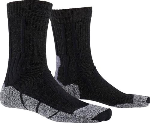 X-Socks Trek Silver W sokken zwart/grijs 37-38