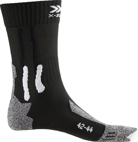 X-Socks Trek Outdoor Socks zwart/grijs 39-41