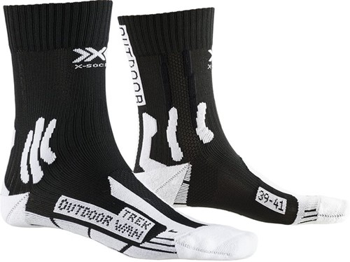 X-Socks Trek Outdoor W wandelsokken zwart/wit 41-42