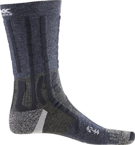 X-Socks Trek Path Ultra LT Socks blauw/grijs 45-47