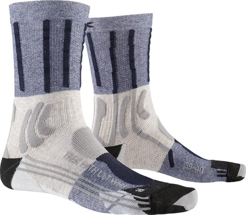 X-Socks Trek Path Ultra LT W sokken beige/blauw 39-40